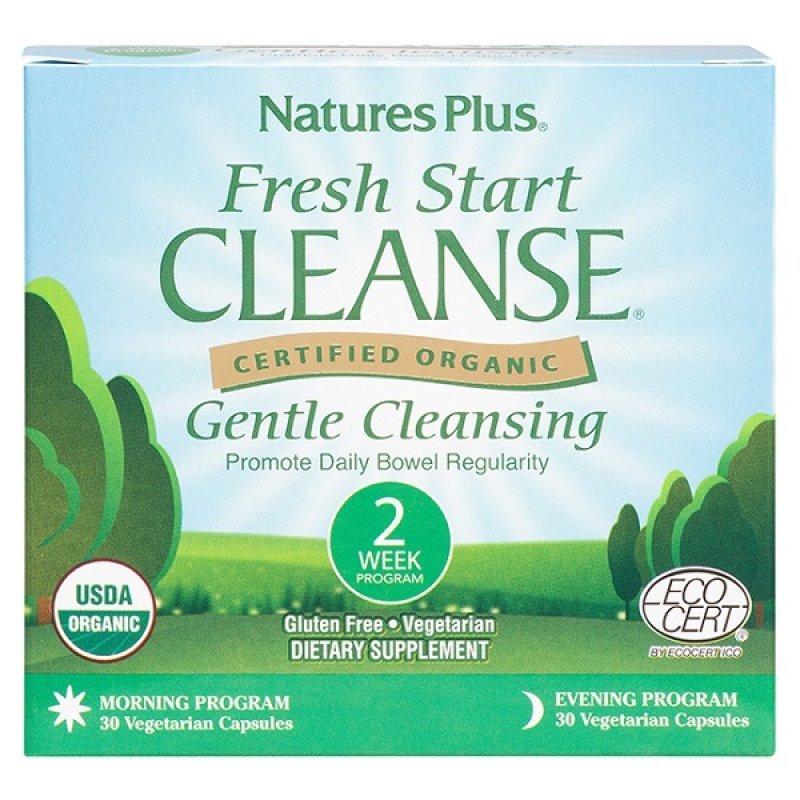 NATURES PLUS FRESH START CLEANSE 15 DAY PROGRAM 2X30VEG. CAPS