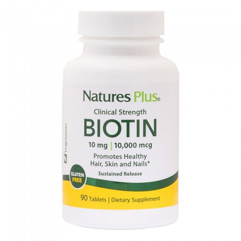 NATURES PLUS BIOTIN 10MG 90TABS