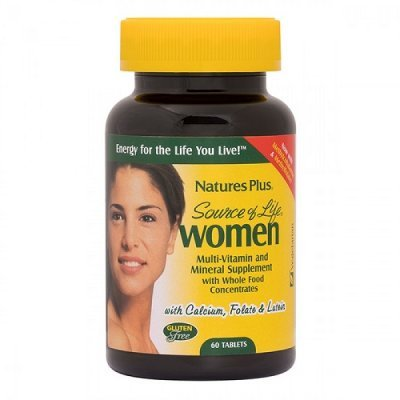 NATURES PLUS SOURCE OF LIFE WOMEN 60 TABS