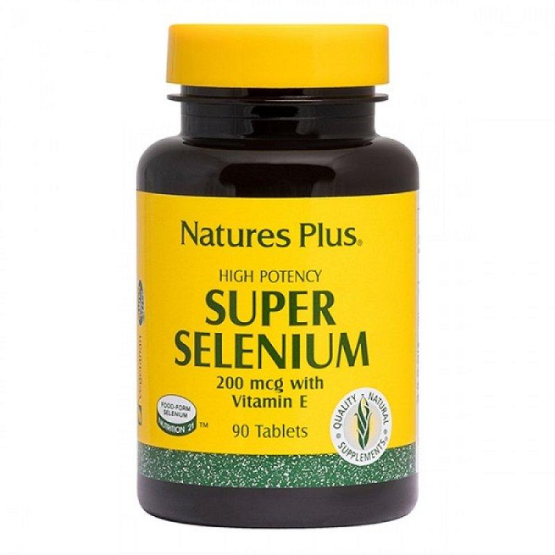 NATURES PLUS SUPER SELENIUM 200MCG 90TABS