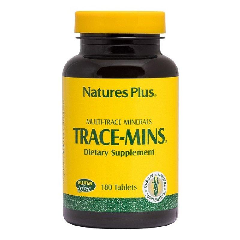 NATURES PLUS TRACE-MINS 180 TABS