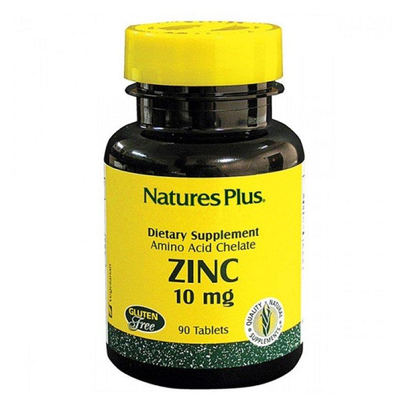NATURES PLUS ZINC 10 MG 90 TABS