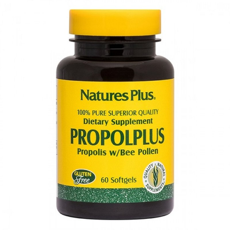 NATURES PLUS PROPOL-PLUS 60 SOFTGELS