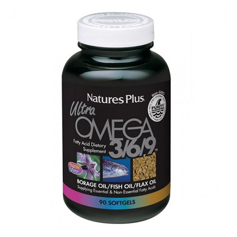 NATURES PLUS ULTRA OMEGA 3/6/9 COMPLETE 90SOFTGELS