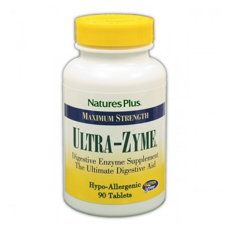 NATURES PLUS ULTRA-ZYME 90 TABS