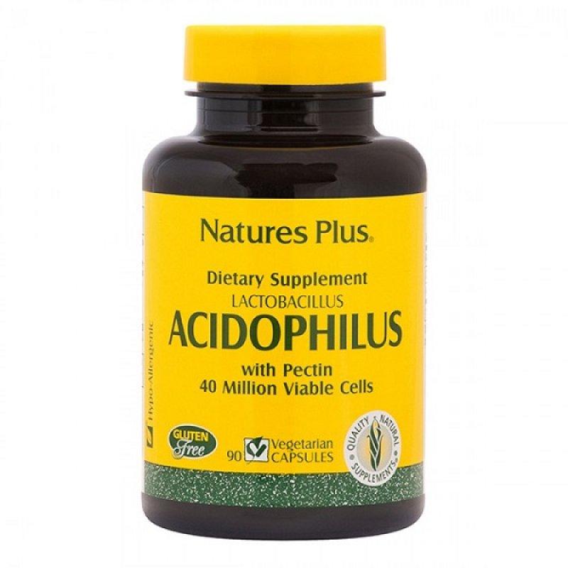 NATURES PLUS ACIDOPHILUS 90 VCAPS