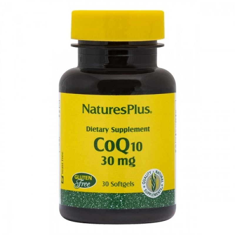 NATURES PLUS COENZYME Q10 30 MG 30 SOFTGELS