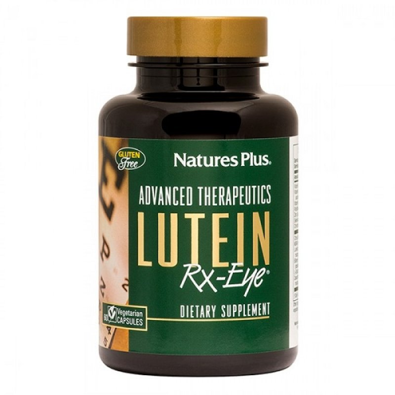 NATURES PLUS LUTEIN RX EYE 60 VCAPS
