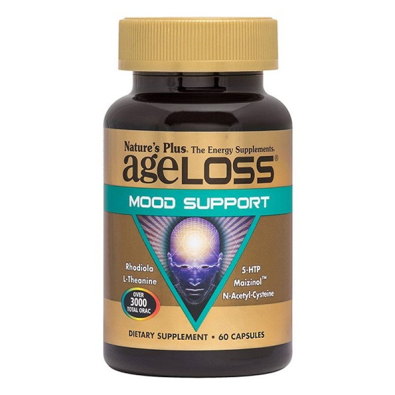 NATURES PLUS AGELOSS MOOD SUPPORT 60 CAPS