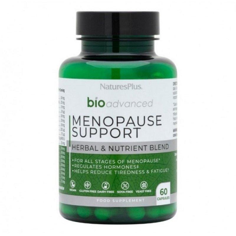 NATURES PLUS BIOADVANCED MENOPAUSE SUPPORT 60 CAPS