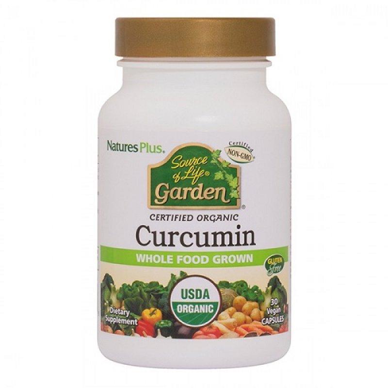 NATURES PLUS SOURCE OF LIFE GARDEN CURCUMIN 400MG 30CAPS