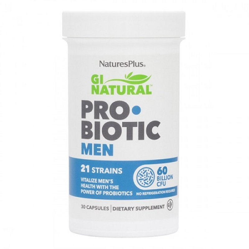 NATURES PLUS GI NATURAL PROBIOTIC MEN 30 CAPS