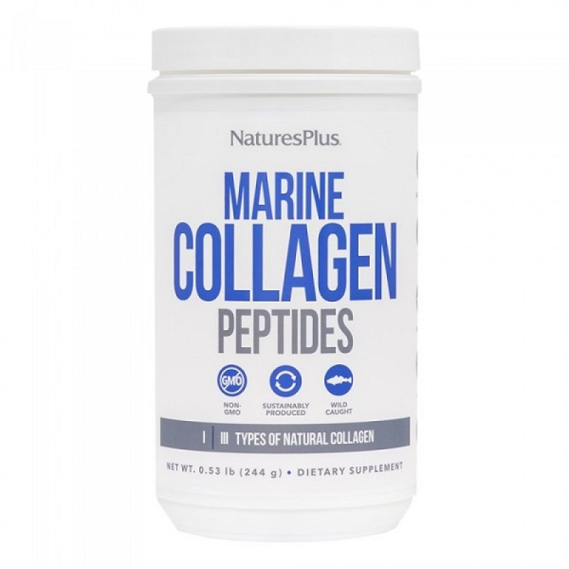 NATURES PLUS MARINE COLLAGEN 0.53LB (244G)