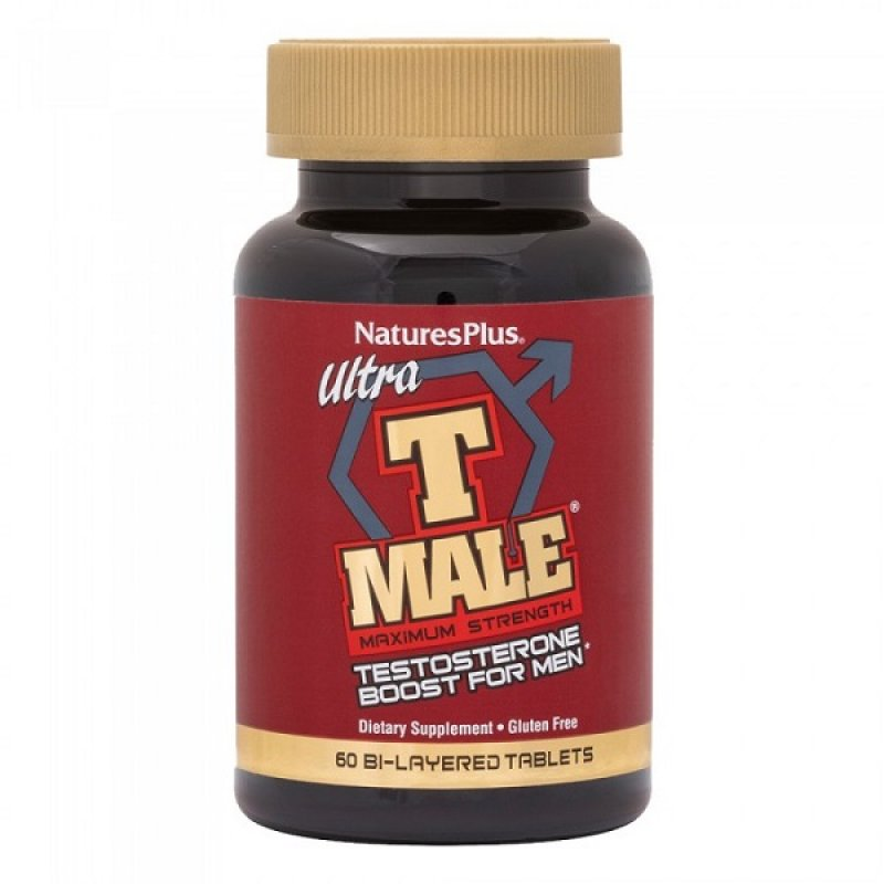 NATURES PLUS ULTRA T-MALE BI-LAYER 60TABS