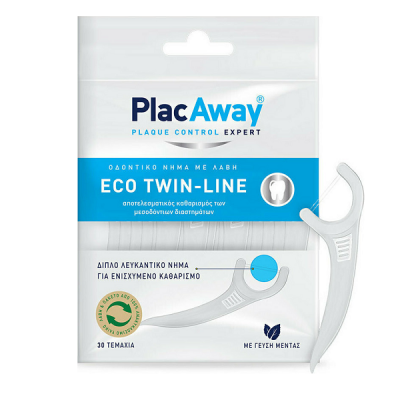 PLAC AWAY ECO TWIN-LINE FLOSSERERS 30ΤΜΧ