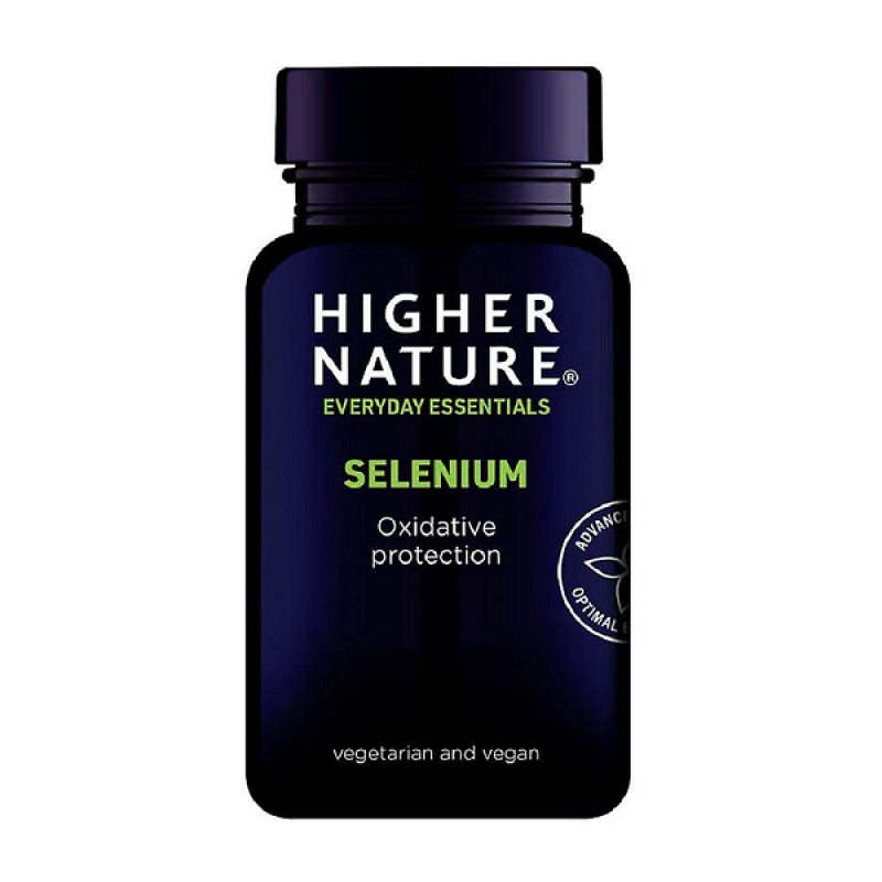 HIGHER NATURE SELENIUM 200ΜG 60VCAPS