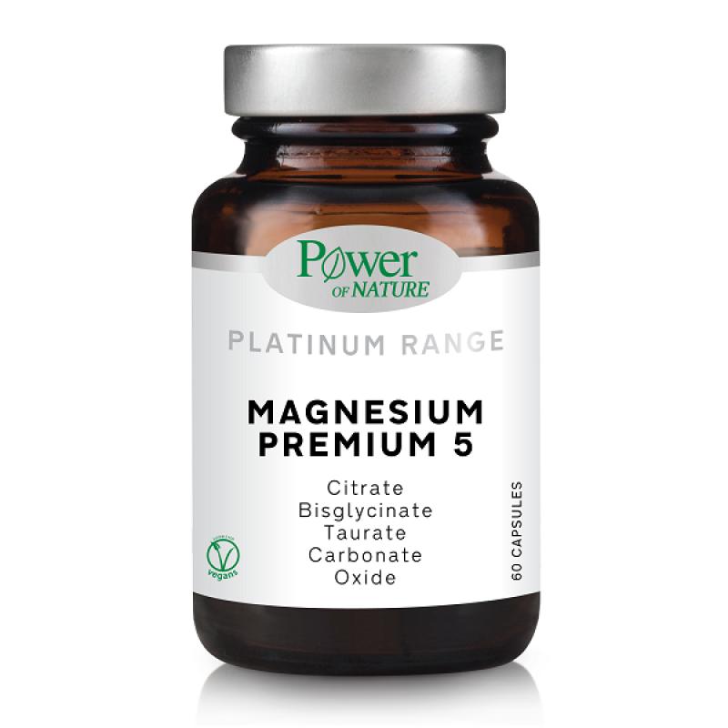 POWER HEALTH PLATINUM MAGNESIUM PREMIUM 5 60CAPS