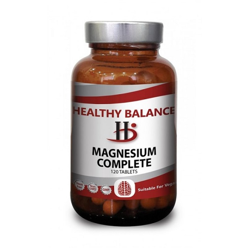 HEALTHY BALANCE MAGNESIUM COMPLETE 120TABS
