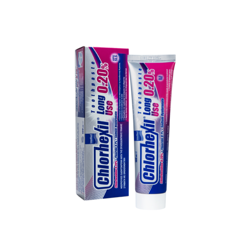 INTERMED CHLORHEXIL LONG USE 0,20% TOOTHPASTE 100ML