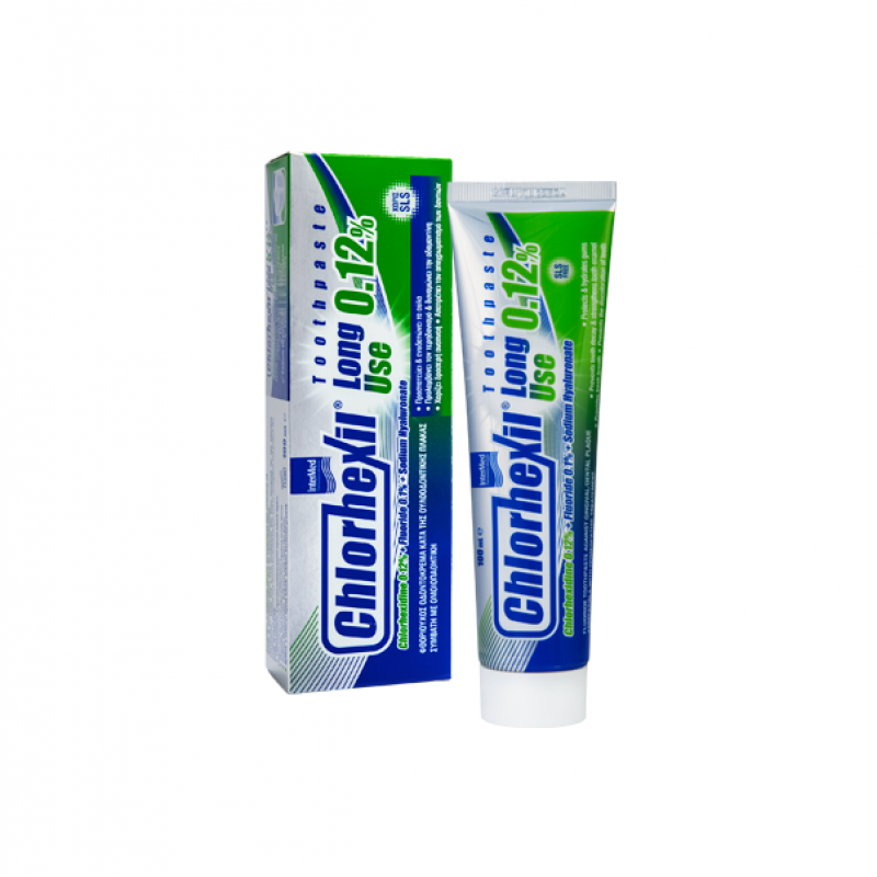 INTERMED CHLORHEXIL LONG USE 0,12% TOOTHPASTE 100ML