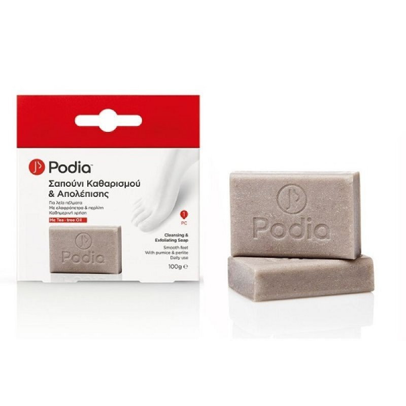 PODIA CLEANSING & EXFOLIATING SOAP 100GR