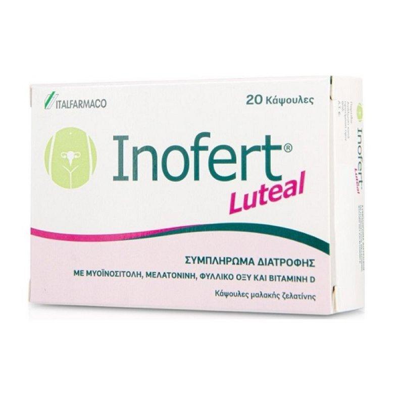ITALFARMACO INOFERT LUTEAL 20CAPS