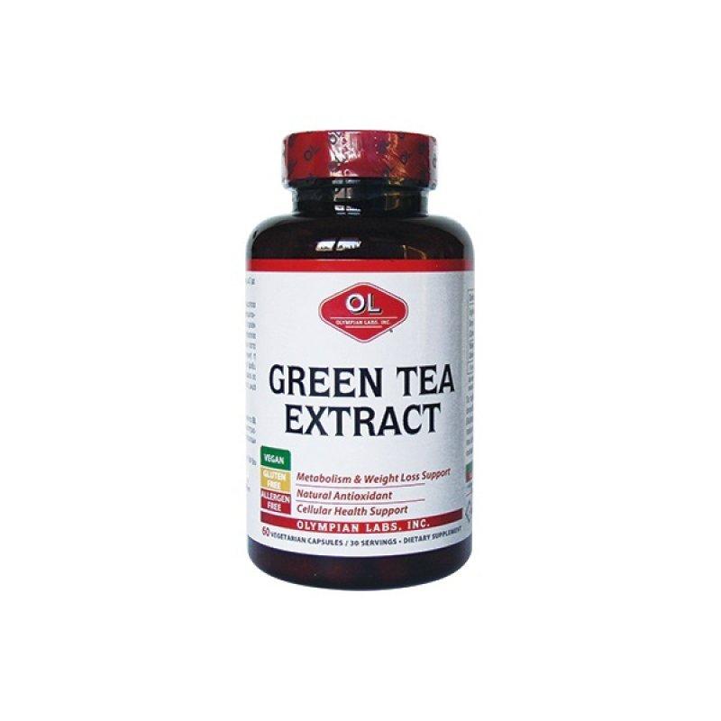 OLYMPIAN LABS GREEN TEA EXTRACT 500mg 60CAPS