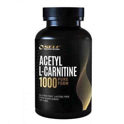 SELF OMNINUTRITION ACETYL L-CARNITINE 1000MG 100VTABL