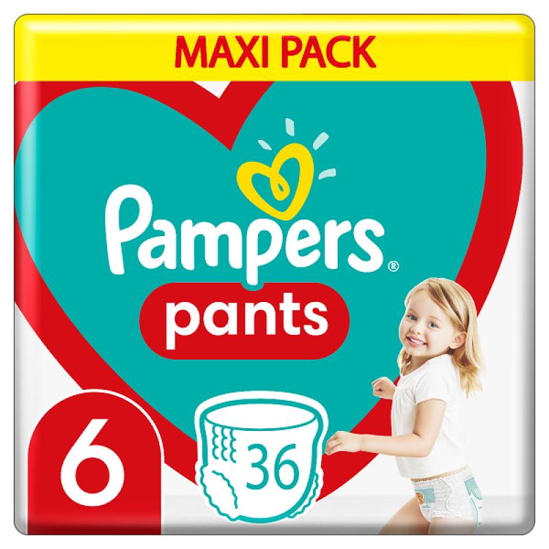 PAMPERS PANTS MAXI PACK ΝΟ6 (15+KG) 36ΤΜΧ