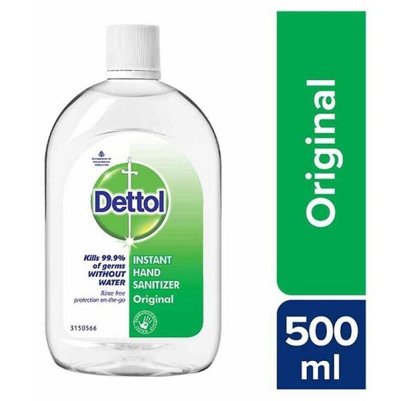 DETTOL GEL ΑΝΤΙΣΗΠΤΙΚΟ ΧΕΡΙΩΝ 500ML