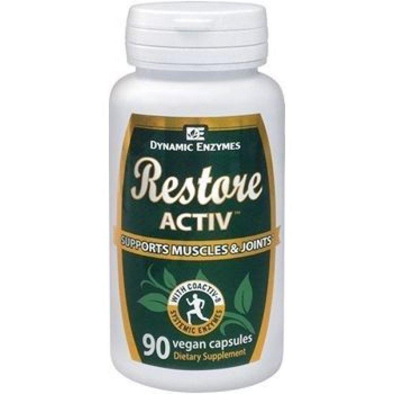 AM HEALTH DYNAMIC ENZYMES RESTORE ACTIV 40VEGAN CAPS