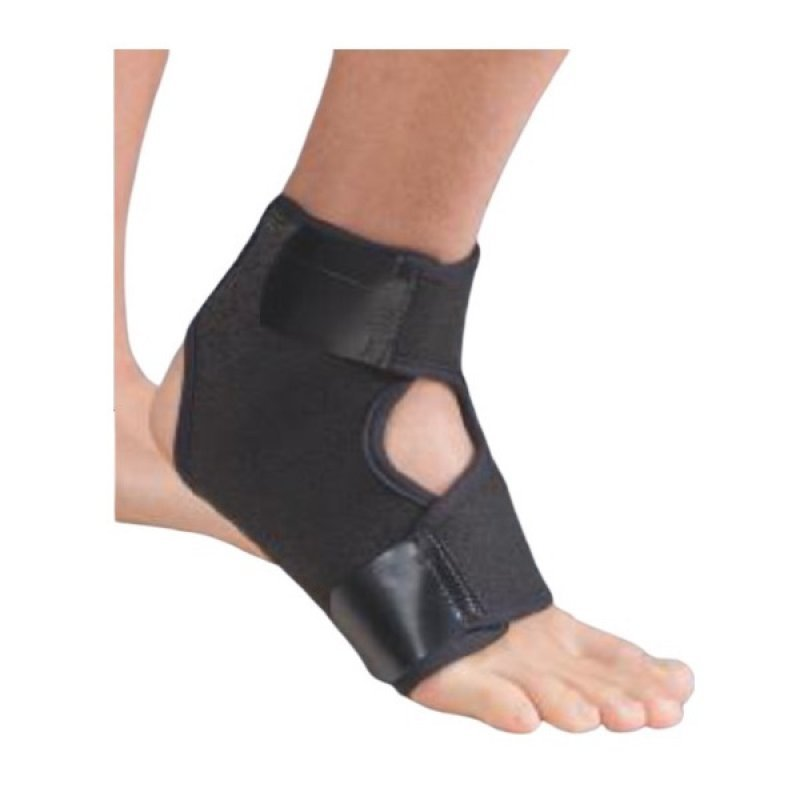 ANATOMIC HELP 0557 ΕΠΙΣΤΡΑΓΑΛΙΔΑ ΑΠΛΗ NEOPRENE ONE SIZE BLACK