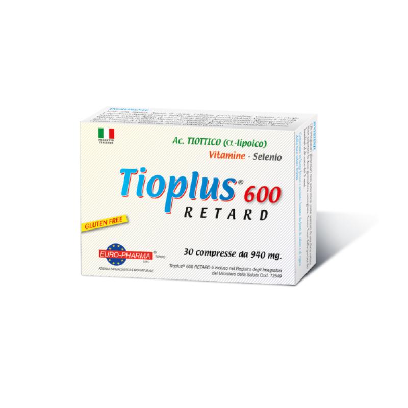 TIOPLUS 600 RETARD 30caps