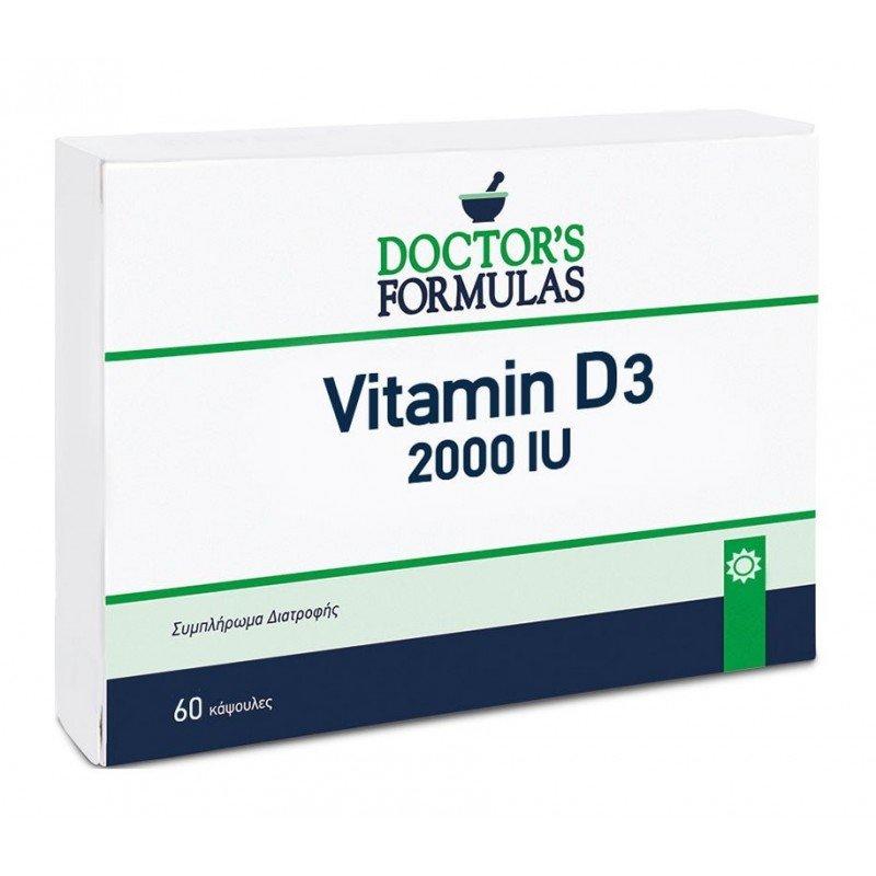 DOCTOR`S FORMULAS VITAMIN D3 2000IU 60CAPS