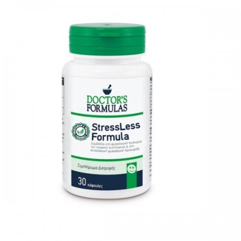 DOCTOR`S FORMULAS STRESSLESS 30CAPS