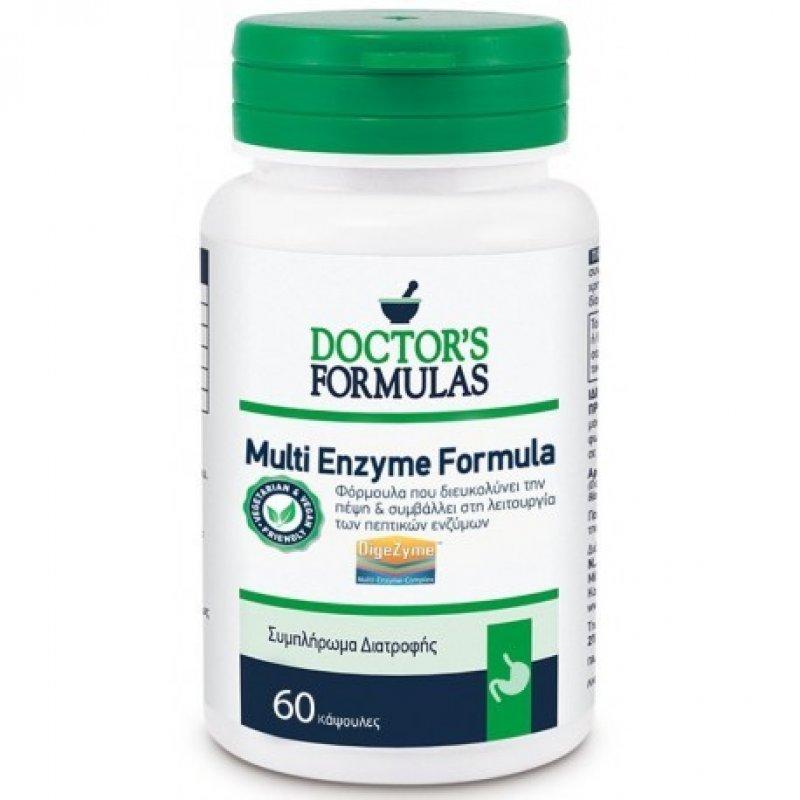 DOCTORS FORMULA MULTI ENZYME FORMULA 60CAPS