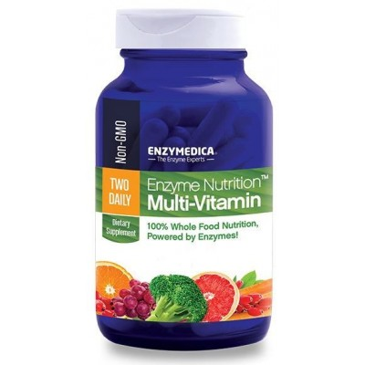 ENZYMEDICA ENZYME NUTRITION MULTI-VITAMIN TWO DAILY 60CAPS