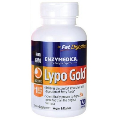 ENZYMEDICA LYPO GOLD  120 CAPS