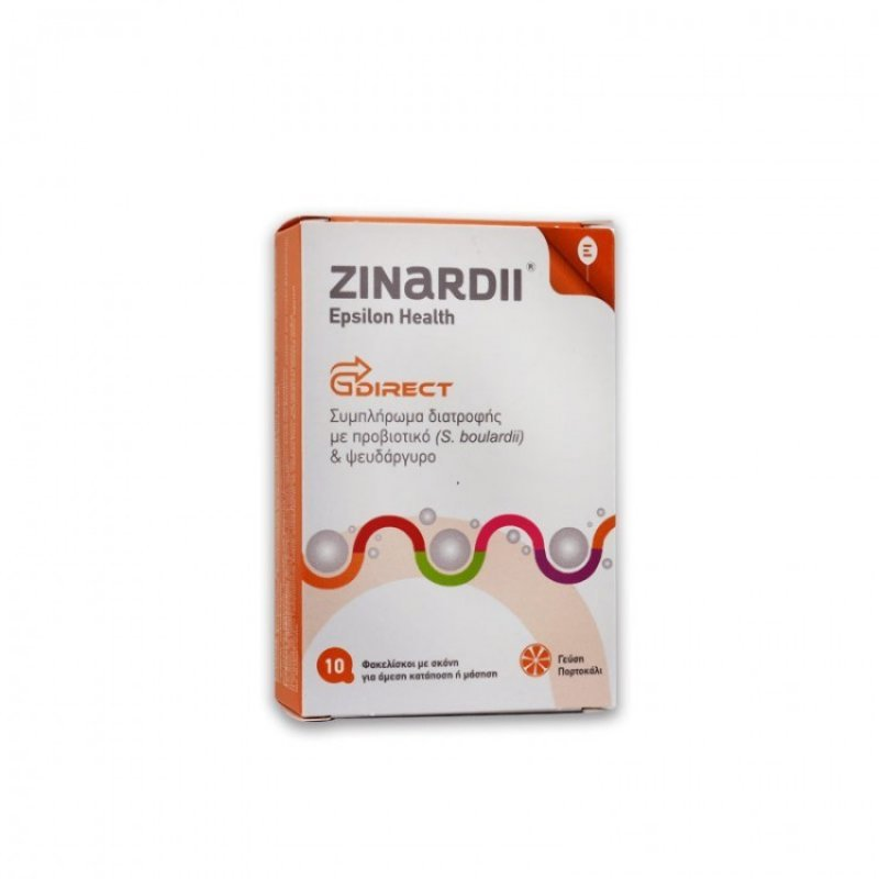 EPSILON HEALTH ZINARDII (box of 10 stick packs)