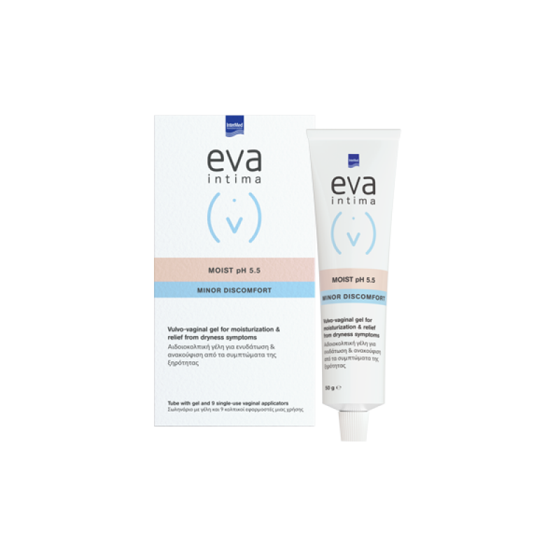 EVA INTIMA MOIST GEL TUBE 50GR & 9 ΠΕΡΙΕΚΤΕΣ