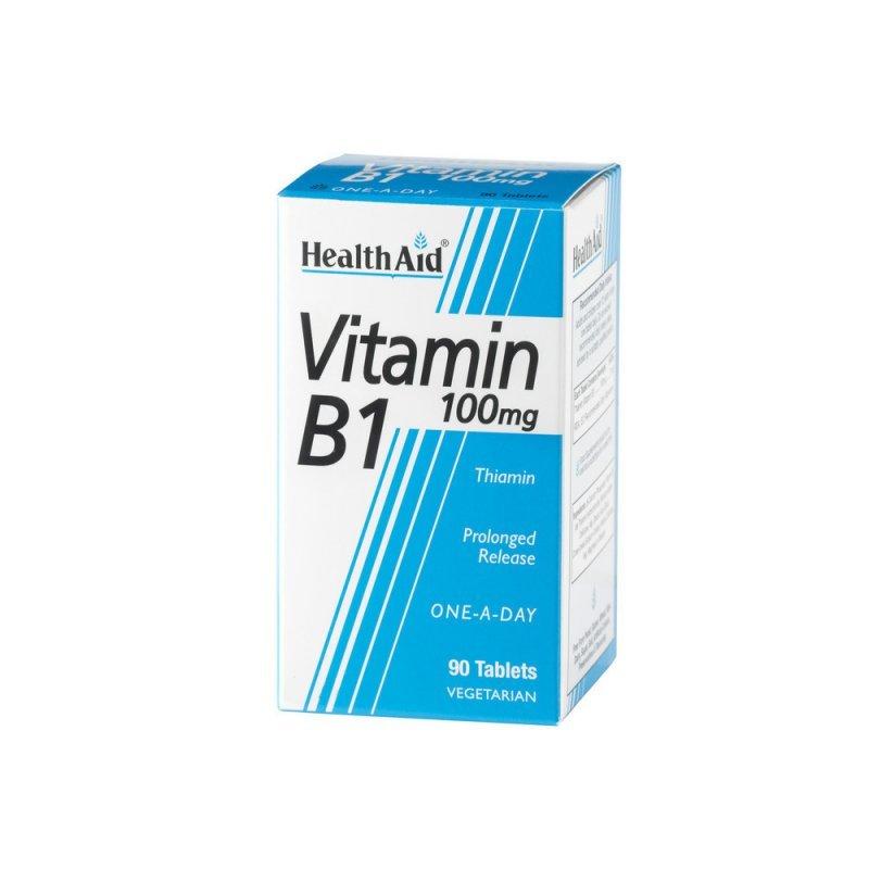 HEALTH AID VITAMIN B1 100MG 90TAB