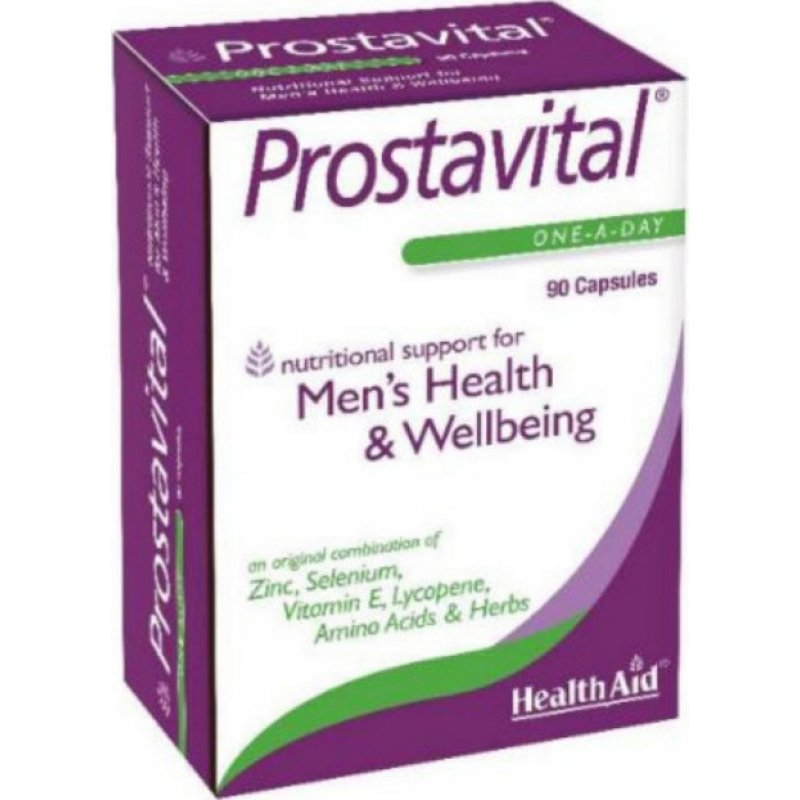 HEALTH AID PROSTAVITAL 90CAPS  ECONOMY