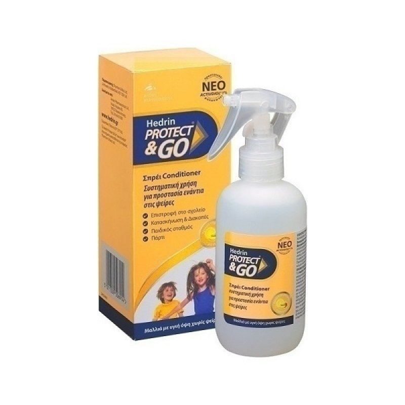 HEDRIN Protect & Go Spray and Conditioner 200ml