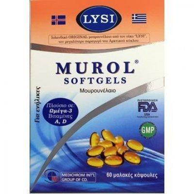 MUROL OMEGA 3 60SOFTGELS