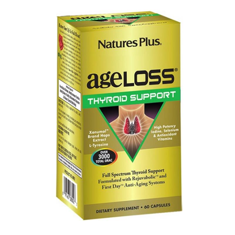 NATURES PLUS AGELOSS THYROID 60 VEGCAPS
