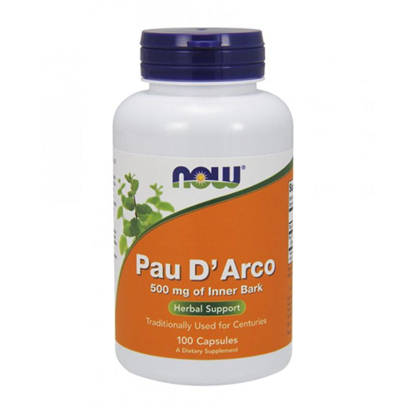 NOW PAU D ARCO 500 MG 100 CAPS