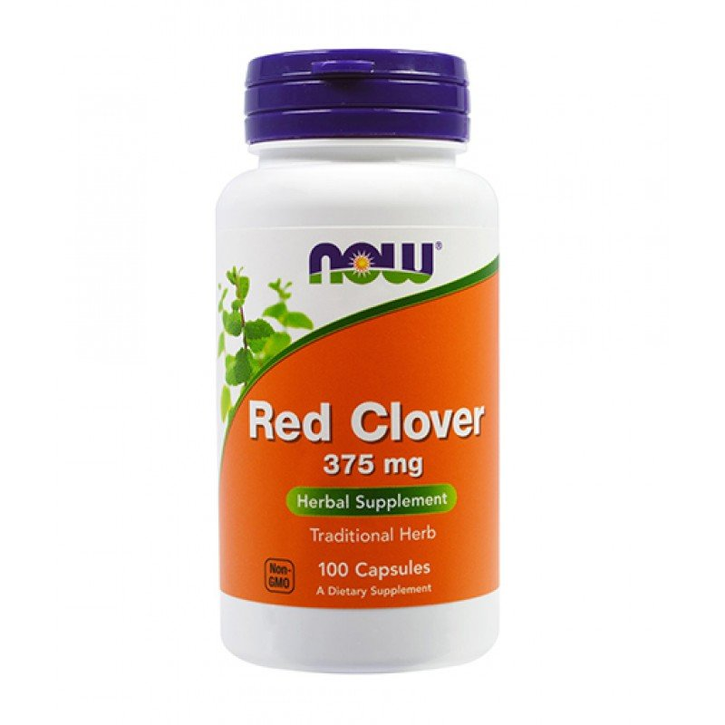 NOW RED CLOVER 375 MG 100 CAPS