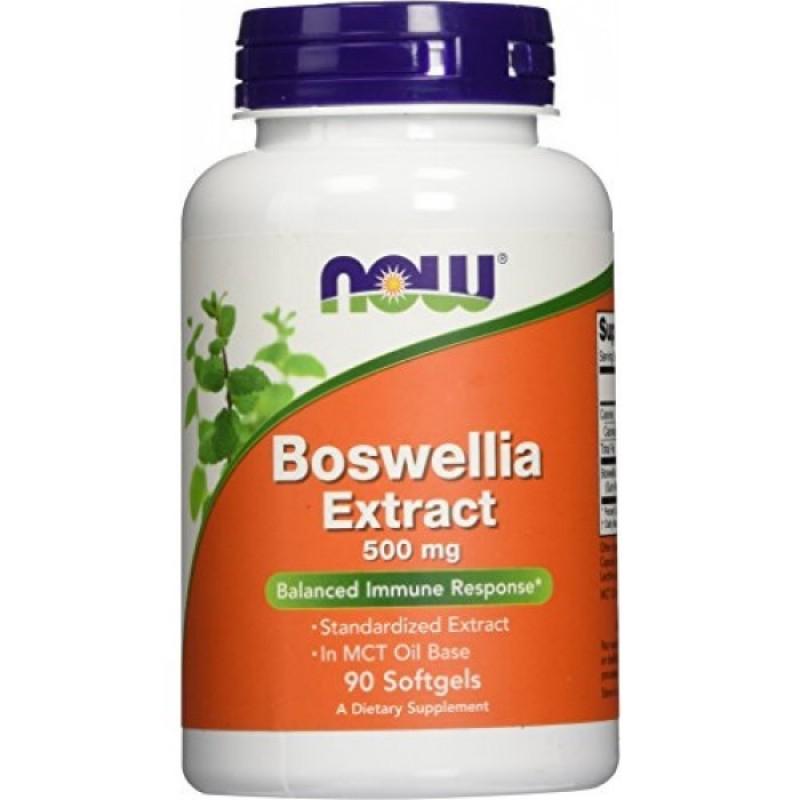 NOW BOSWELLIA EXTRACT 500MG 90 SOFTGELS