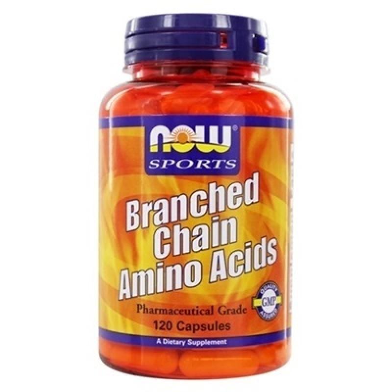 NOW BRANCH-CHAIN AMINO 120 CAPS