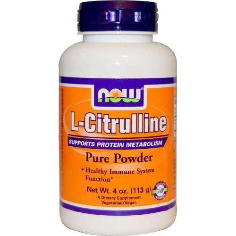 NOW L-CITRULLINE POWDER 4 OZ(113GR)